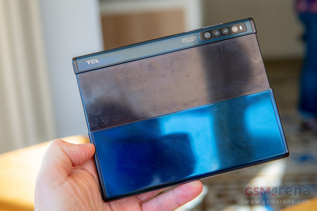 TCL foldable display concepts hands-on review