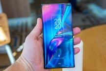 Device angles - TCL foldable display concepts hands-on review
