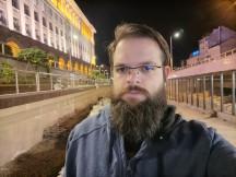 Tecno Camon 16 Premier Super Night mode selfie samples - f/2.2, ISO 1550, 1/14s - Tecno Camon 16 Premier review