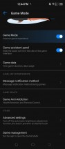 Game Mode options - Tecno Camon 16 Premier review