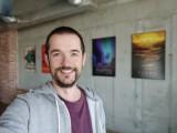 Selfie samples, Portrait mode, Bokeh on - f/2.5, ISO 61, 1/50s - vivo iQOO 3 5G review