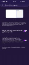 Gaming settings - vivo iQOO 3 5G review