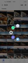 Navigation options and shortcut menu - vivo X50 Pro review