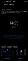 Always on display - vivo X50 Pro review