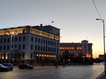 Camera samples at dusk: 2x zoom - f/1.7, ISO 65, 1/50s - Xiaomi Mi 10 5g review