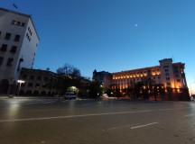Camera samples at dusk: ultrawide - f/2.4, ISO 393, 1/25s - Xiaomi Mi 10 5g review