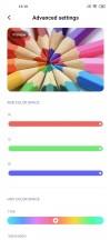 Display settings - Xiaomi Mi 10 5g review