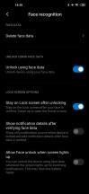 Face recognition - Xiaomi Mi 10 5g review