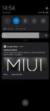 Notifications pane - Xiaomi Mi 10 5g review