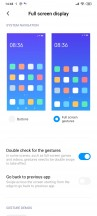Navigation options - Xiaomi Mi 10 Lite 5G review