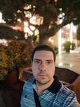 Selfies, nighttime, portrait mode off/on - f/2.3, ISO 752, 1/14s - Xiaomi Mi 10 Pro long-term review
