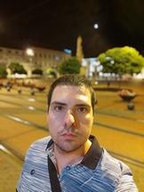 Selfies, nighttime, portrait mode off/on - f/2.3, ISO 419, 1/20s - Xiaomi Mi 10 Pro long-term review