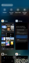 Gesture navigation settings, Recents menu - Xiaomi Mi 10 Pro long-term review