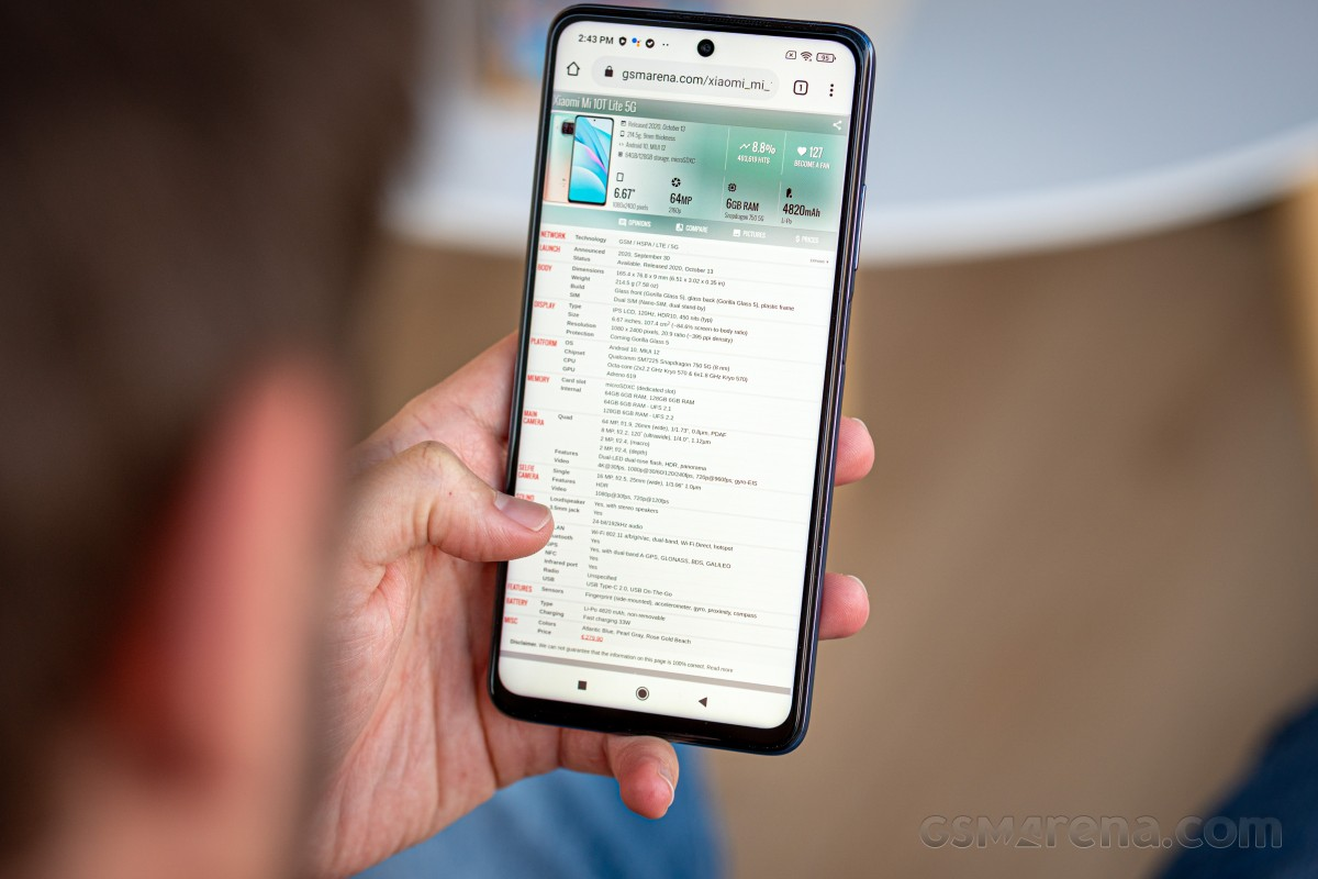 Xiaomi Mi 10T Lite 5G review