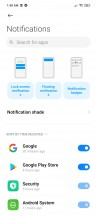 Notification cards - Xiaomi Mi 10T Lite 5G review