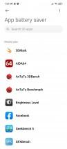Battery menu and settings - Xiaomi Mi 10T Lite 5G review