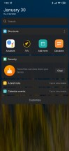 POCO Launcher Home screen, app drawer, Vault - Xiaomi Mi Note 10 long-term review