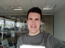 Portrait selfies - f/2.2, ISO 50, 1/298s - Xiaomi Poco F2 Pro review