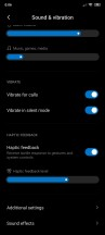 Sound and vibration - Xiaomi Poco F2 Pro review