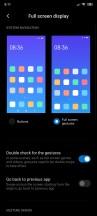 Full-screen gestures - Xiaomi Poco F2 Pro review