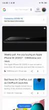 Google Discover - Xiaomi Redmi Note 9S review