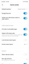 Settings - Xiaomi Redmi Note 9S review