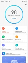 Security app - Xiaomi Redmi Note 9S review