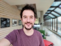 Portrait selfies - f/2.0, ISO 894, 1/50s - Zte Axon 20 5g review