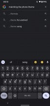 Gboard automatically applies the Material You theme - Android 12 review