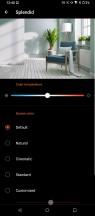 Display and color menu - Asus ROG Phone 5 review