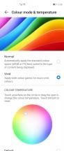 Display color settings - Huawei Mate X2 review