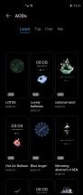 AOD settings - Huawei Mate X2 review