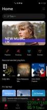 Running at 90Hz: Huawei Music - Huawei Mate X2 review