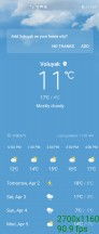 Running at 90Hz: Weather app - Huawei Mate X2 review