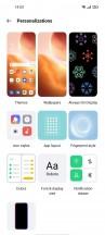 Personalization menu - Oppo Reno5 5G review