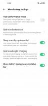 Battery menu - Oppo Reno5 5G review