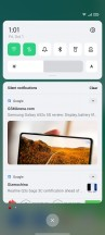 Home screen, notification shade, recent apps, app drawer - Oppo Reno6 5G review
