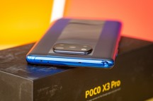 The sides of the Poco X3 Pro - Poco X3 Pro review