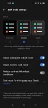 Dark Mode - Realme 8 Pro review