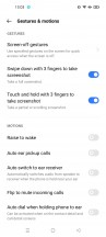 Settings - Realme 8 Pro review