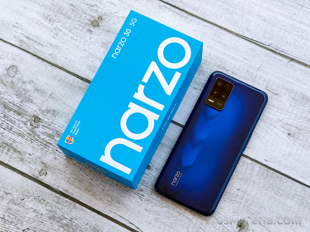 Realme Narzo 30 5G hands-on review