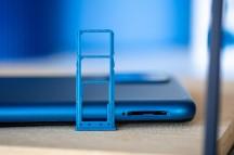Triple-card tray - Samsung Galaxy A12 review