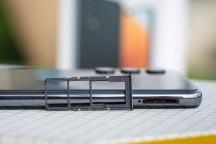 Triple-card tray - Samsung Galaxy A32 review