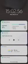 Lock screen - Samsung Galaxy A32 review