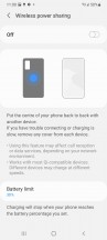 Battery settings - Samsung Galaxy S21 Ultra review
