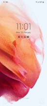 Lockscreen - Samsung Galaxy S21 Ultra review