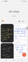 Notes app - Samsung Galaxy S21 Ultra review