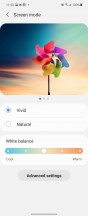 Display settings - Samsung Galaxy Z Flip3 5G review