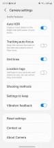 Camera settings - Samsung Galaxy Z Fold3 5G review