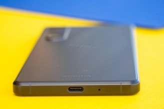 USB-C port on the bottom - Sony Xperia 1 III review